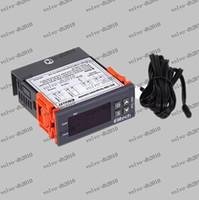 Wholesale Via DHL Off V Digital temperature controller with Sensor Cooling Heating STC Va22