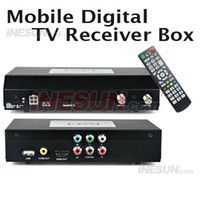 other other  2 Tuners Mobile Car Digital HD TV DVB-T Receiver Box w HDMI 1080i HDMI Output, Support OSD Teletext
