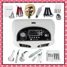11in1 Diamond Microdermabrasion Ultrasonic Skin Scrubber Vacuum Massage ultrasound massager Photon Rejuvenation Home Skin Care device
