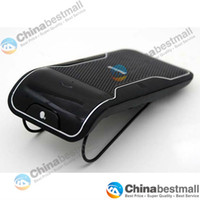 Wholesale Shading Plate Bluetooth Hands free Speakerphone Car Kit With Car Charger Bluetooth Hands free Kit Black