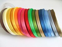 Wholesale 6mm satin ribbons belt gift packing wedding decoration yards roll rolls min order mixed colors