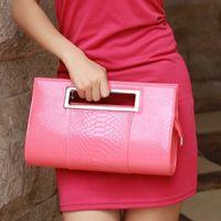 Wholesale 2013 lady vintage glist evening bag clutch bag temperament bag corean handbag patent leather Alligator Pattern bag C012