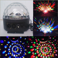Red auto spot lamp - LED Crystal Ball Home Lamp DJ Stage Light Magic Party Rotating Spot Stage Light