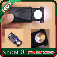 Wholesale 30X21 Mini LED Light Fold Pull Type Jewelry Loupe Magnifier Magnifying Glass