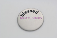 Wholesale 316 stainless steel enamel assorted large blessed love plate for mm floating charm glass locket no locket and charms