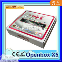 Wholesale High quality Openbox X5 Full HD PVR p Satellite Receiver Support Youtube Youporn Gmail Google Maps Weather Cccam Newcamd