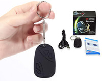 Wholesale MINI DIGITAL CAMERA SPY CAR KEY HIDDEN HD CAMERA Chain DV DVR WebCam Camcorder Video Voice Recorder cheap small movie digital cameras
