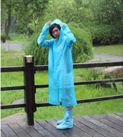 Wholesale New Disposable PE Raincoat Rain Poncho Mix Color