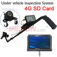 Wholesale 4 inch LCD TVL CCD IR Camera Recroding Intelligent Under Vehicle Inspection System Car Camera