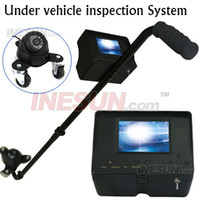 Wholesale 3 inch LCD TVL CCD IR Camera Recroding Intelligent Under Vehicle Inspection System Wire SHARP Chip
