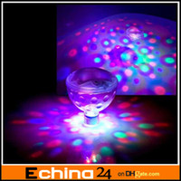Wholesale Tub SPA Jacuzzi Colorful Underwater LED Disco Ball Multi Light Show LED Water Light