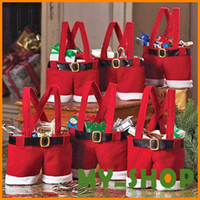 Cheap Christmas Santa Pants Bags Best   Christmas Pouch