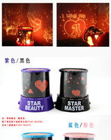Wholesale LED star master light star projector Gifts led Lamp night light lover star master