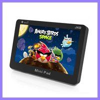 al por mayor androide wifi jxd-JXD S18 4.3 Pulgadas Mini PAD Tablet PC de 512 mb de RAM 4GB Android 4.0 Amlogic 8726-M3 L Wifi pantalla táctil resistiva de tablet pc