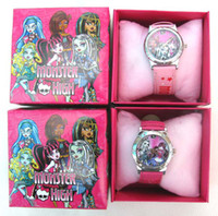 Wholesale Monster High Watch Wristwatches FREE Boxes XMAS Gifts