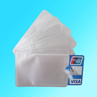 Wholesale 20pcs Anti Theft Credit Card Protector Aluminum RFID Blocking Secure Sleeve Protect your money and ID
