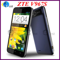 Wholesale ZTE V967s inch MTK6589 Quad Core Smartphone IPS QHD Screen G RAM G ROM MP G GPS android cell phone