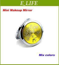 Wholesale Mixed CD Veins Compact Mirror Makeup Mirror Wedding Favor Personalized Engraving Logo Xmas Gifts