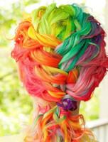 Wholesale Chalk Hair Temporary Hair Chalk Color Dye Pastel Chalk Bug Rub Soft Fencai Bar Pieces set