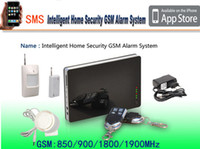 gsm home - New iOS amp Andorid Apps Supported Smart Wireless Wired Burglar GSM Home Security Alarm System Remote Control by SMS amp Calling