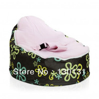 Wholesale Baby bean bag chair no filler original doomoo seat BEAN BAG sofa chair newborn kid snuggle beds