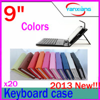 "9 inch other 9 inch 20pcs In stock 9"" Universal Keyboard Case For 9 inch Tablet PC RW-L12-09"