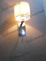 antique reading lamps - Antique Wall Lamp Bedside Reading Light LED Stages Switch Design Color Shape of Fabric Shade Optional