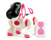 Wholesale Birthday Gift Remote Control RC Robot Toy Intelligent Dog Smart Puppy Sing Dance Electronic Music