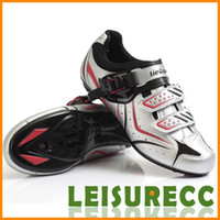 Wholesale Road Cycling Shoes Pair PU Mesh Men Size Color Sweat Absorbent Free Shiping Outdoor Sports Supplies