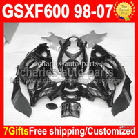 7gifts ALL Black For SUZUKI KATANA GSXF600 GSX600F Gloss GSX...