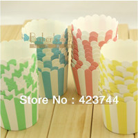 Wholesale bulk High temperature mini baking paper cupcake liners cases wrappers Muffin Cake Tray