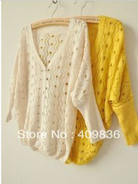 Wholesale women s Cardigans cutout outerwear thin cape sun air conditioner sweater cardigan Tops clothes