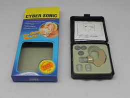 Wholesale Hot Sale CYBER SONIC invisible hearing aid AIDS ITE CE Sound Amplifier soft ear plug