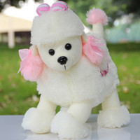 Wholesale Plush toy poodle shepherd dog christmas gift birthday present cm