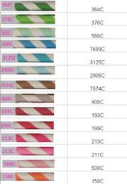 Free Shipping Wedding Supplies 19.7CM Striped Dot Chevron Zebra Drinking Paper Straw Package 2550PCS
