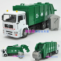 Wholesale Giant Bureau car garbage truck gift box alloy car model