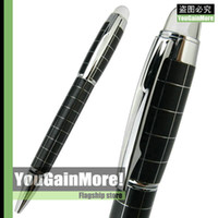 Wholesale BAOER STARWALKER CROSS LINE TWIST ACTION BALLPOINT PEN SILVER CHECKED NEW