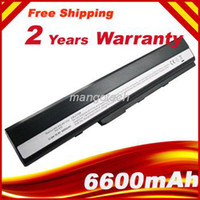 Wholesale 6600mAh Hot Replacement laptop battery for ASUS K42 K52 A52 A52F A52J A31 K52 A32 K52 A41 K52 A42 K52