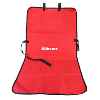 Wholesale Fashion Red Protector Nylon Waterproof Car Dog Cat Pet Protection Pad Rear Back Seat Protective Cover Mat