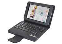 For Barnes Noble Nook HD 7  For Nook HD 7 Leather Removable Wireless Bluetooth Keyboard Leather Case for Barnes Noble Nook HD 7 Free Shipping