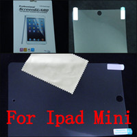 Wholesale Anti Glare Matte Screen Guard Protector Ultra Clear LCD Screen Protector Film Cover Shield Guard for iPad Mini with Retail Package
