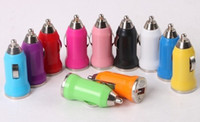 Wholesale 2000pcs mini car charger usb charge cigarette lighter for iPhone GS G S for iPod MP3 MP4 for HTC Samsung