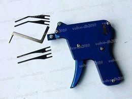 Сильный отмычку пистолет .. слесарь инструмент отмычку set.door заблокировать нож крест замок инструмент выбрать трубчатый подобрать ключ резак LLY277