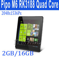 Android 4.2 9.7 inch 32GB PIPO M6 PRO M6pro RK3188 Quad core 9.7 inch Android 4.2 GPS tablet PC RAM 2GB ROM 32GB 2048x1536 Dual Camera IPS Retina Screen HDMI 3G