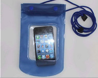 Wholesale 2013 newest waterproof Pouch bag for iphone samsung htc nokia Camera mobile mp3 mp4 watch cellphone
