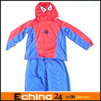 Wholesale spider man costumes spiderman stage cartoon clothes performance clothing costumes children garment