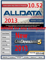 For BMW alldata and mitchell software - 2013 version Auto software with manual alldata and Mitchell for any computer fast