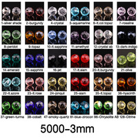 Wholesale Beads Round mm Austria Crystal Beads Loose Bead Charms Hole Bead DIY Beads Loose beads You Pick Color