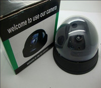 Wholesale Dummy Dome Camera fake surveillance CCTV Security camera with Red LED