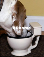 Wholesale Unique Gift Novelty Items Toilet Multi Purpose Mug Pet Bowl